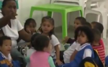 Centros de desarrollo infantil de Cali, siguen funcionando