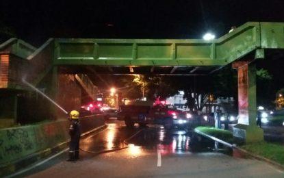 En Cali se adelantan jornadas de lavado y señalización de puentes