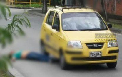 Fiscalía investiga el crimen de un taxista en las últimas horas Cali