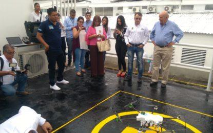 En Cali, pruebas médicas y medicamentos podrán ser traladados en un dron