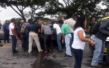 Pareja pierde la vida en trágico accidente en la vía Jamundí- Terranova