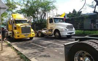 Camiones tomarán rutas alternas para agilizar la movilidad en Cali