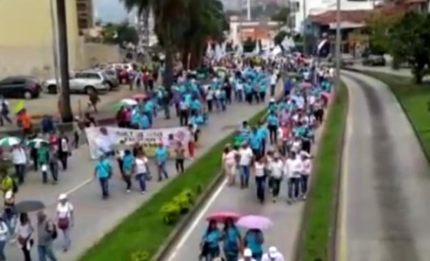 Autoridades vallecaucanas garantizarán derechos durante la marcha del 21/Nov