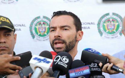 Alcalde de Cali presenta al nuevo secretario de seguridad y justicia de la ciudad