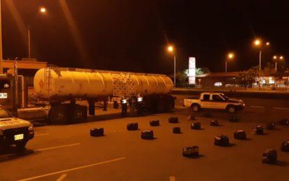 Llevaba camuflados 334 kilos de marihuana en un camión desde el Valle hacia Bogotá