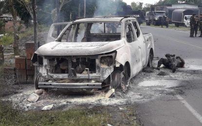Asesinados tres funcionarios del CTI por integrantes de grupo disidente de Las Farc en Nariño