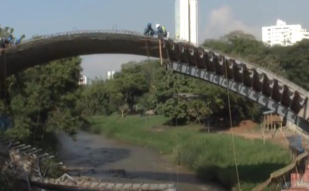 """La obra """"parque lineal río Cali"""" pretende embellecer el centro de la ciudad"""
