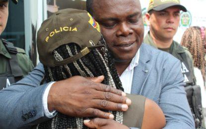 Así fue el rescate en el B/ El Vallado en Cali, de la hija del alcalde de Sipí- Chocó