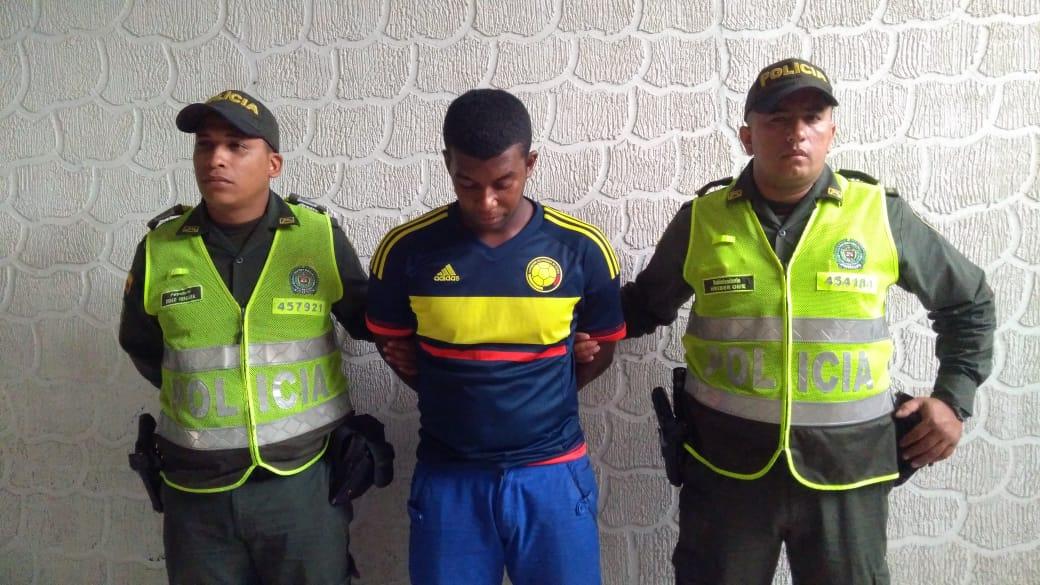 Capturado en Palmira alias «Yeison» solicitado mediante circular azul de la Interpol