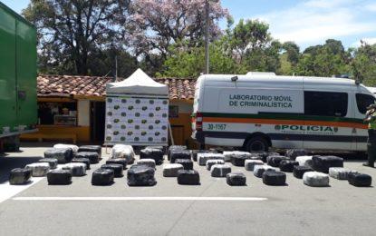 A la cárcel por transportar media tonelada de marihuana en un vehículo que cubría la ruta Cali – Bogotá