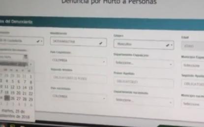 """2500 denuncias virtuales ponen al mes los caleños a través de """"A denunciar"""""""
