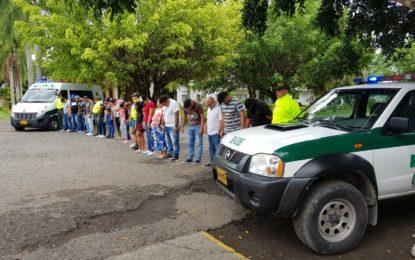 Dos importantes golpes contra el tráfico de drogas en el Valle