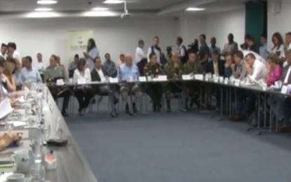 A través de Bloque regional solicitan al gobierno nacional mayor seguridad para Cali