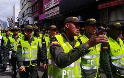 320 policías desplegados en el centro de Cali por temporada decembrina