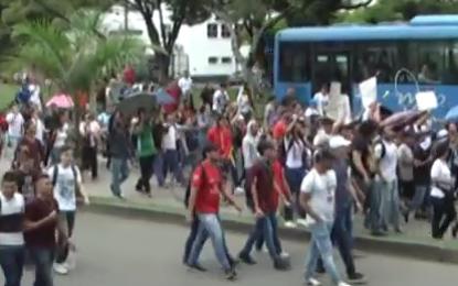 Estudiantes de la Universidad del Valle marcharàn èste 15 de Noviembre
