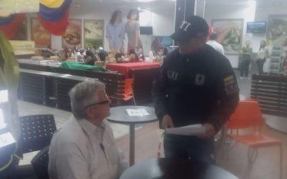 Capturado en eu centro comercial de Cali por abusar de una menor de 14 años