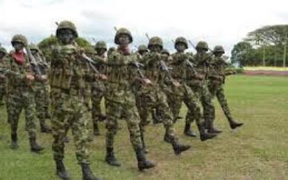 180 Uniformados del ejército llegarán a reforzar seguridad en Jamundí