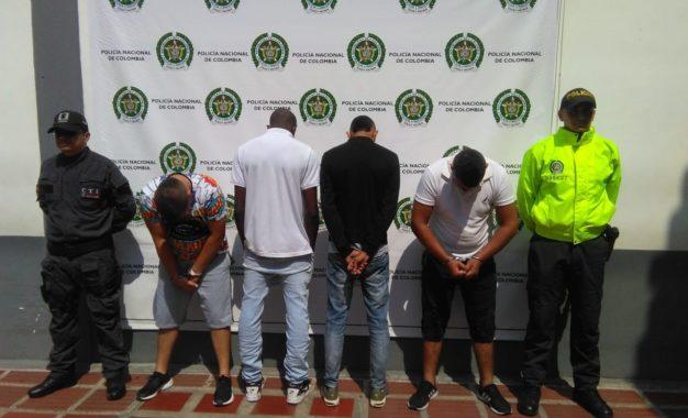 Desmantelan banda dedicada al hurto de droguerías y distribuidores de quesos en Cali