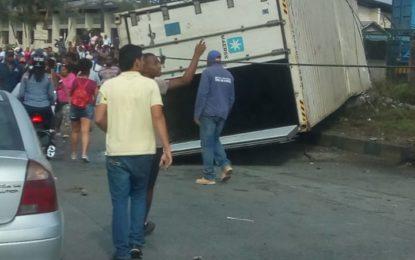 Dos personas muertas por accidente de tránsito en el Puente de El Piñal
