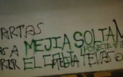 Preocupación por mensajes intimidantes en sede del Deportivo Cali
