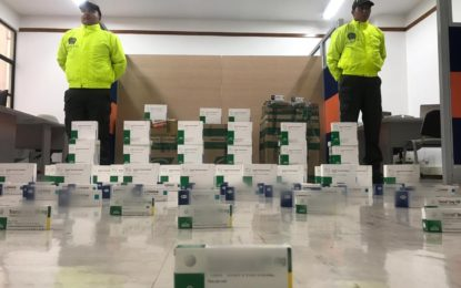 Autoridades incautaron cerca de 4 mil medicinas no aptas para consumo humano