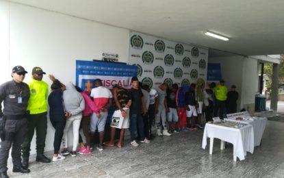 Desarticulada banda de los Mameyes por homicidios y narcotráfico en Guacarí