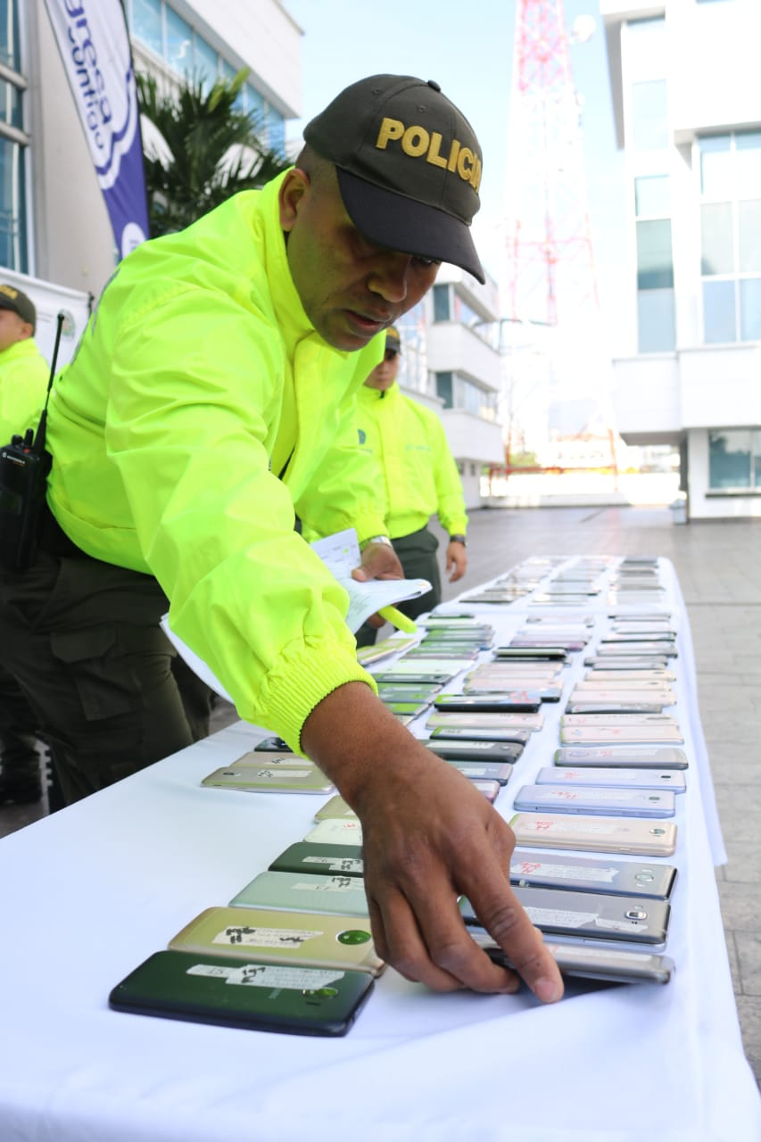 Por comprar celulares hurtados podría pagar hasta 12 años de prisión