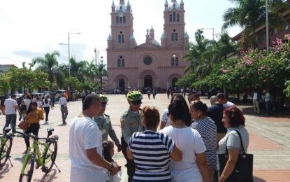 Más de 5 mil policías desplegados en el Valle del Cauca durante Semana Santa
