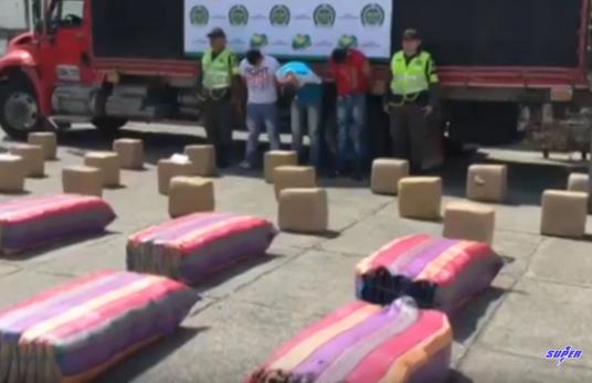 Más de 32 toneladas de narcóticos incautadas en el Valle en 2019