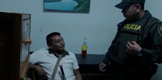 Asegurado gobernador indígena caucano por supuesto desplazamiento de 52 familias Misak