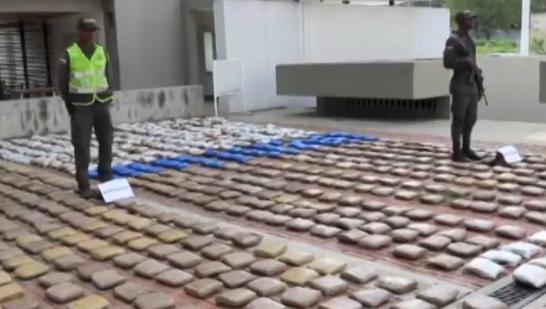 Autoridades hallaron más de 700 kilos de marihuana en un Parqueadero