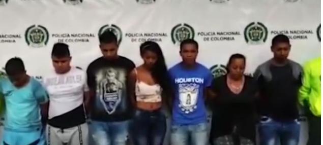 Por sus tatuajes fueron identificados y capturados «Los verdugos»