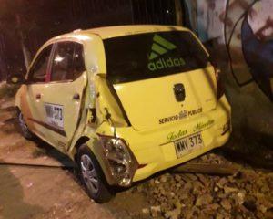 Imputarán cargos a un taxista que arrolló a una mujer causándole la muerte en Cali