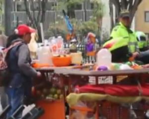 Por error en proceso más de mil vendedores informales de Cali no fueron caracterizados