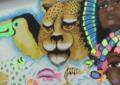 Con expresión artística en mural de Cali incentivan el cuidado al medio ambiente