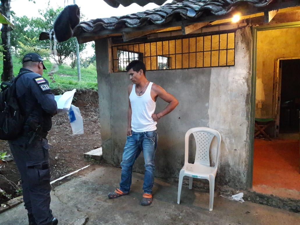 A la cárcel sujeto capturado en centro de acopio para el narcotráfico en Cauca