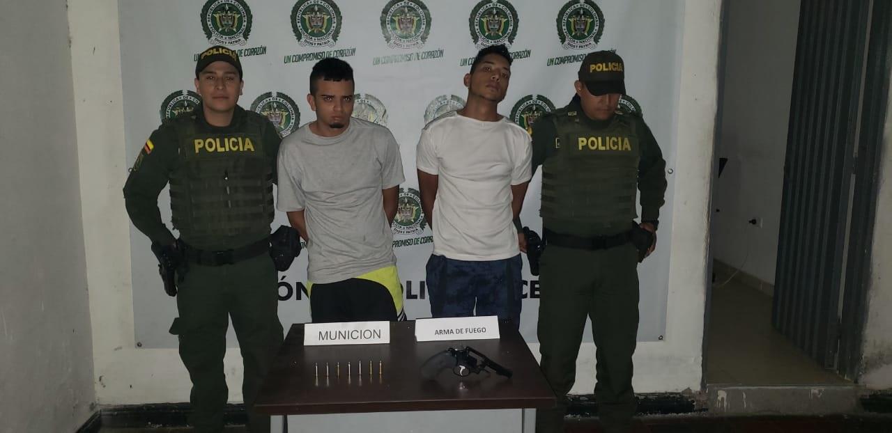 Capturados por intento de hurto en Guacarí