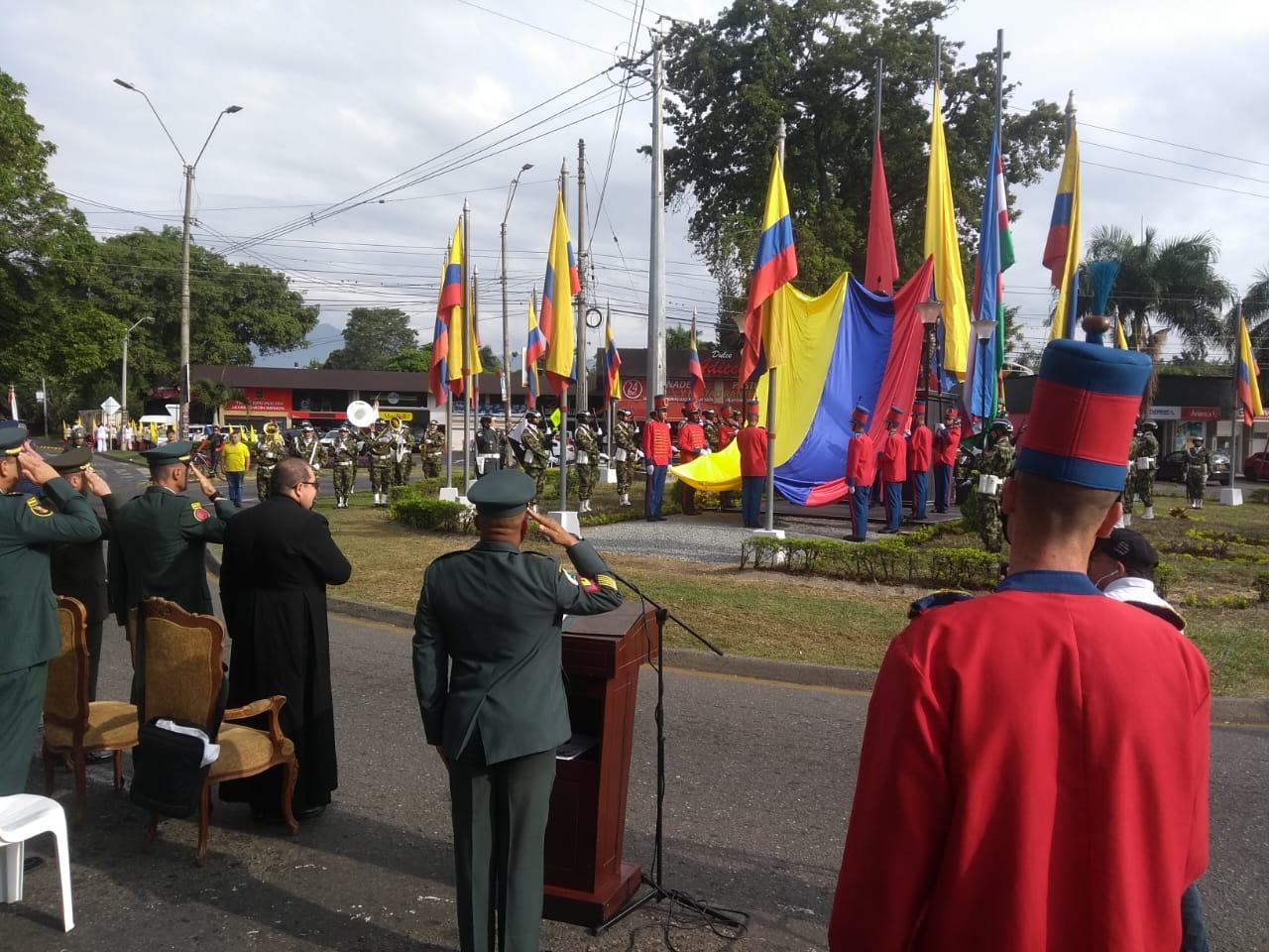 El país conmemoró 200 años de libertad