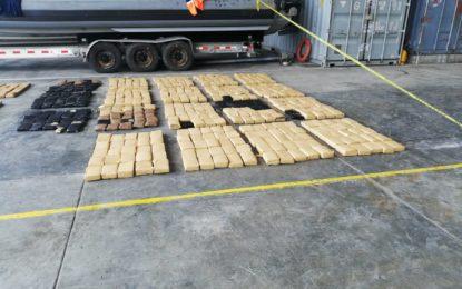 Cárcel para tres nicaragüenses que viajaban con droga en Buenaventura