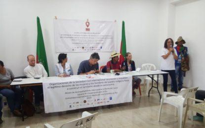 Analizan situación de indígenas en el Cauca