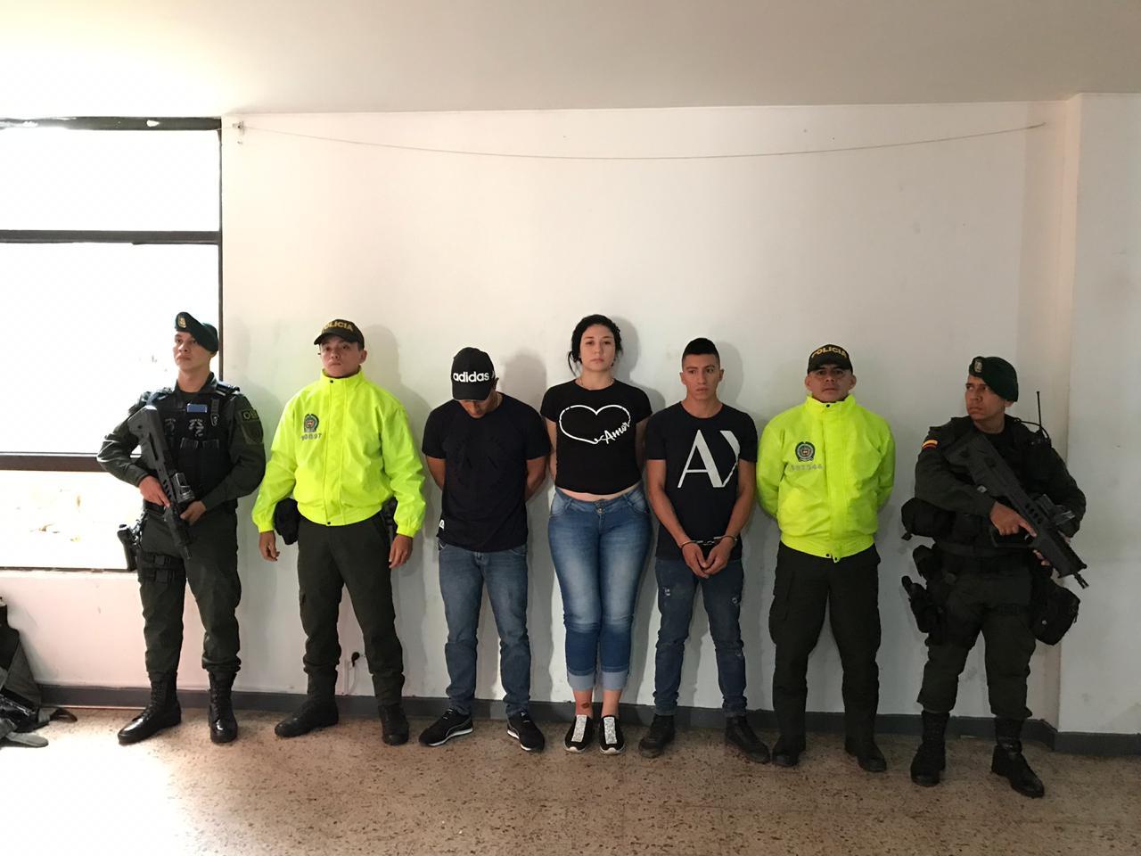 "Golpe a las redes de apoyo de la columna móvil ""Jaime Martínez"" en Jamundí"