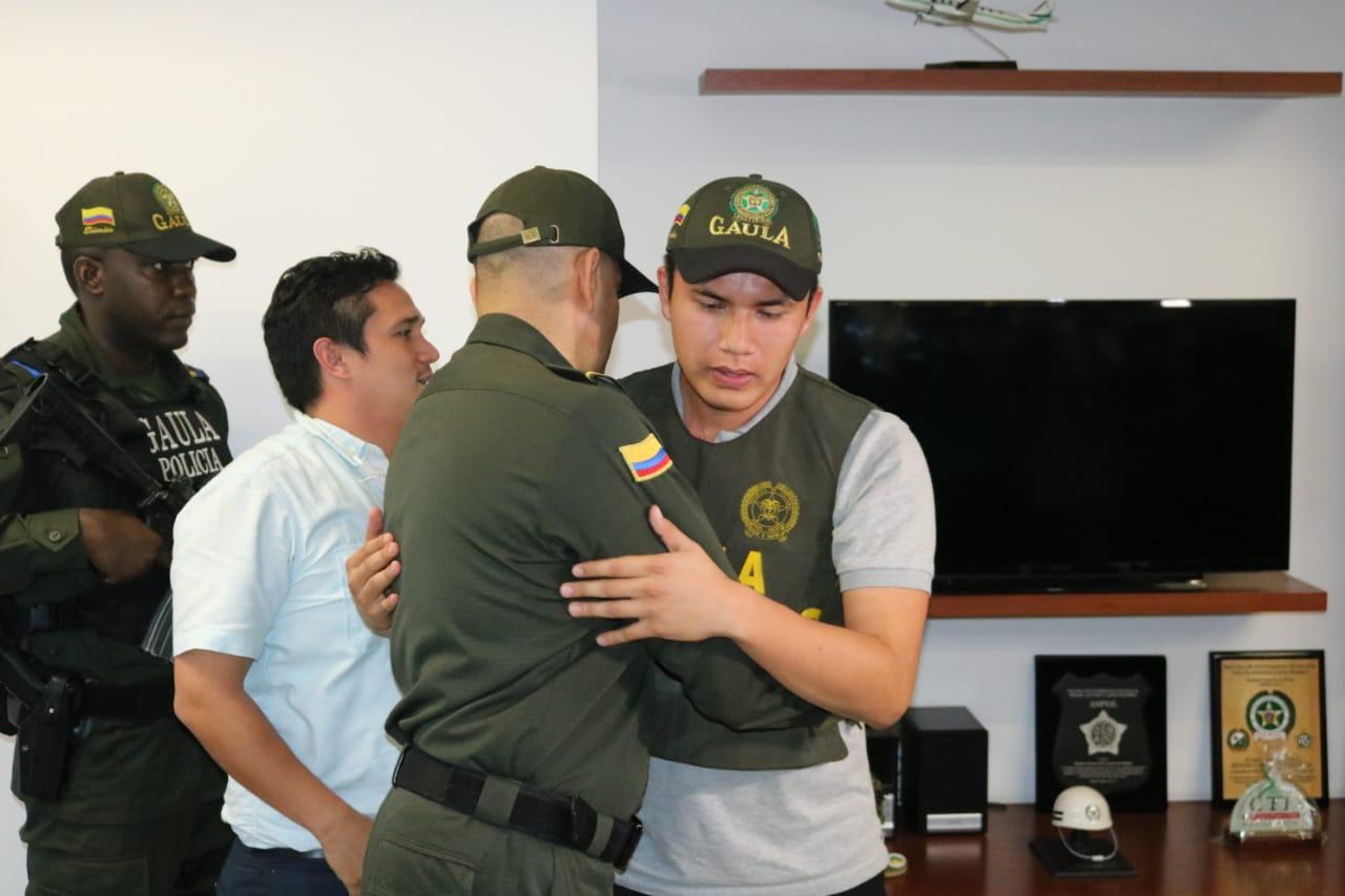 Ciudadano ecuatoriano secuestrado en Cali, volvió a la libertad
