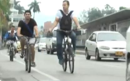 Socialización de cicloinfraestructura en Cali