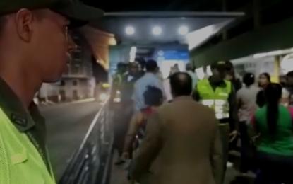 Más de 5 capturados dejan controles en el MIO