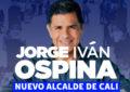 Jorge Iván Ospina es el nuevo alcalde de Santiago de Cali