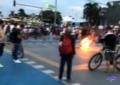 Plantón pacífico de los estudiantes en Cali terminó en disturbios