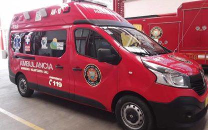 Ambulancia de Bomberos Cali es el servicio más usado en la ciudad