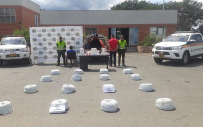 Incautan10 mil detonadores para cargas explosivas camufladas