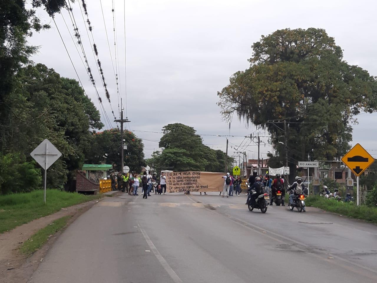 Continúan movilizaciones por paro nacional en Colombia