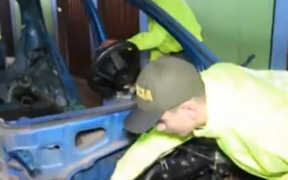 Desmantelan desguazadero de vehículos en Yumbo
